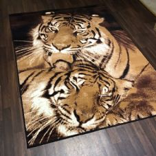 NEW RUGS Approx 6x4FT 120x170cm STUNNING Top Quality Tigers WOVEN RUGS